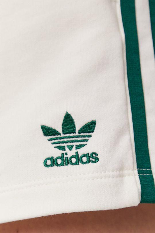 kremowy adidas Originals - Szorty