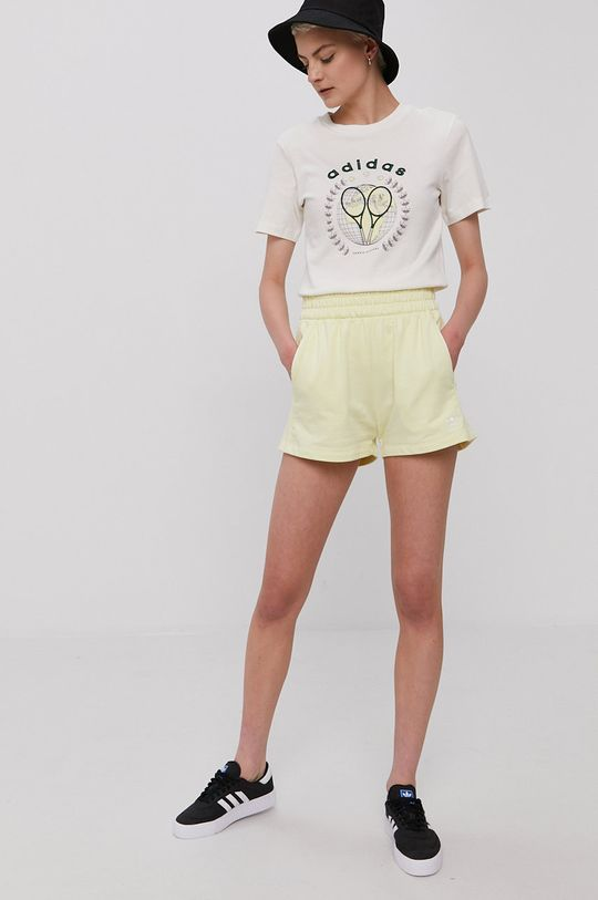 adidas Originals - Šortky žltá
