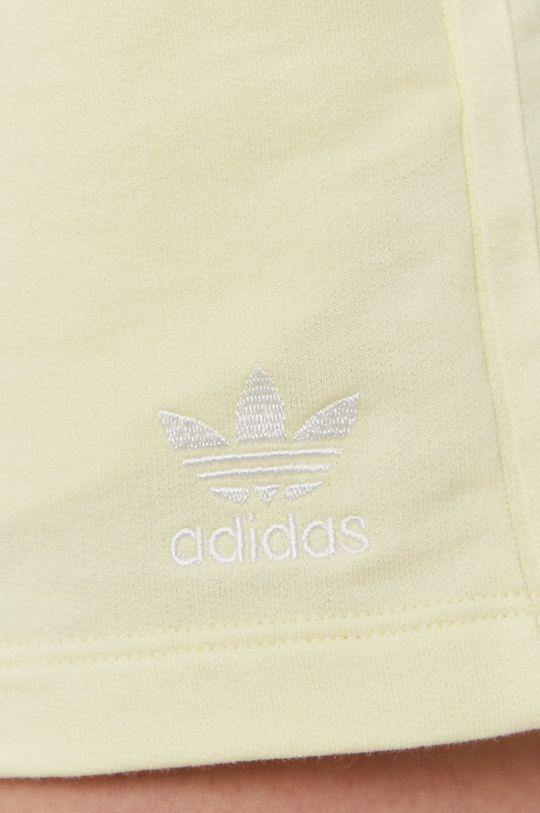 žltá adidas Originals - Šortky