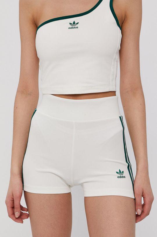 crem adidas Originals - Pantaloni scurti De femei