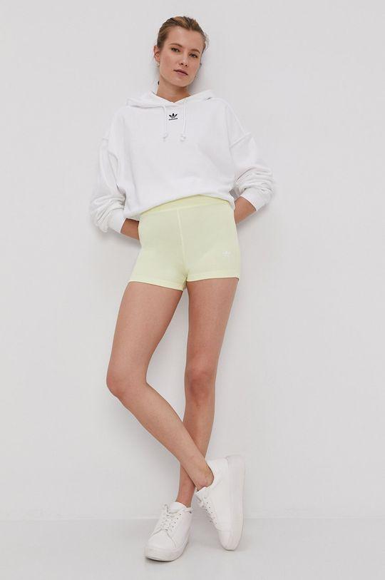 galben adidas Originals - Pantaloni scurti De femei