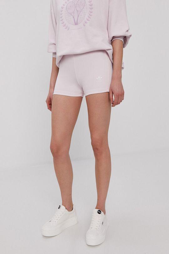 różowy adidas Originals - Szorty BOOTY Damski