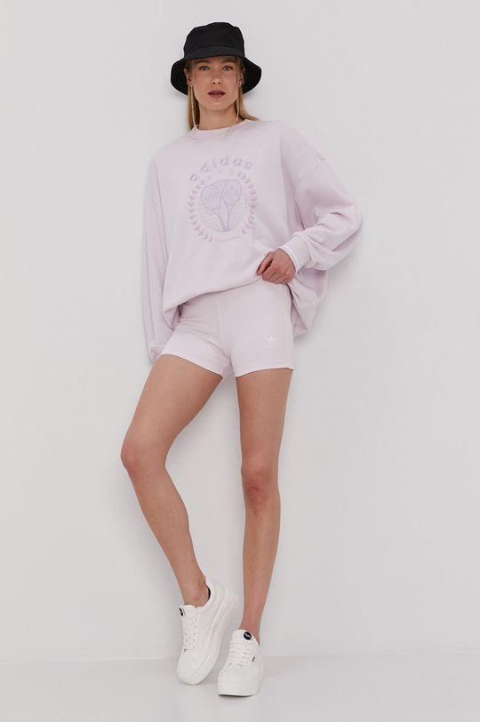 adidas Originals - Szorty BOOTY różowy