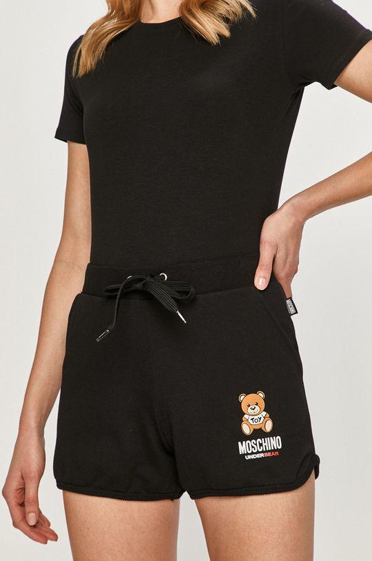czarny Moschino Underwear - Szorty Damski