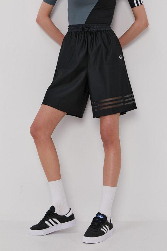 čierna adidas Originals - Šortky Dámsky