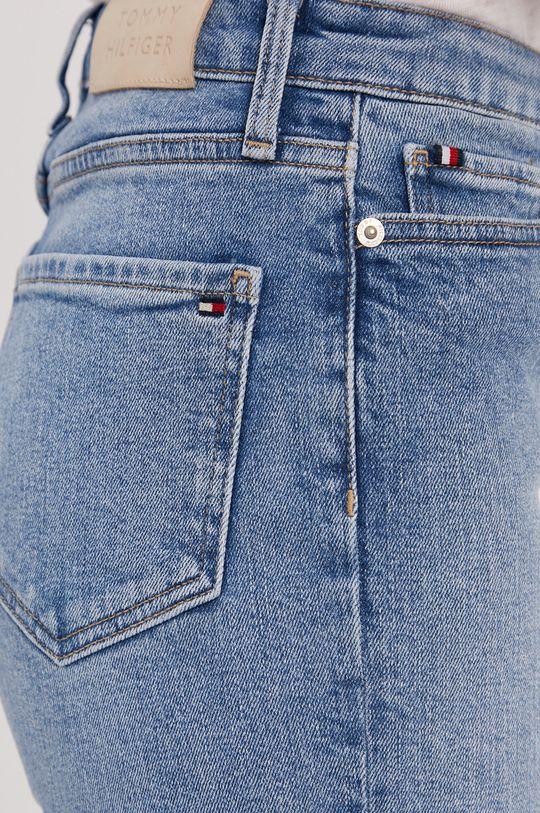 niebieski Tommy Hilfiger - Szorty jeansowe