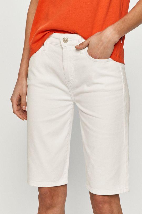 biały Tommy Hilfiger - Szorty jeansowe Damski