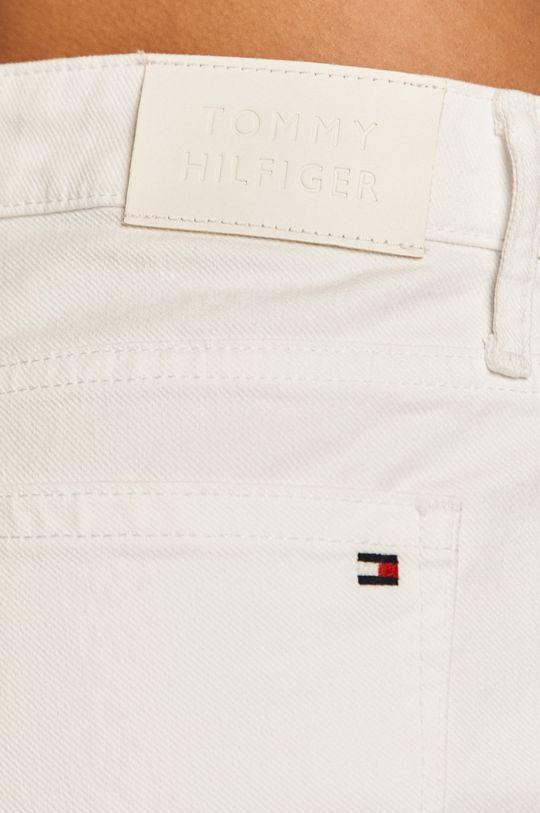 biały Tommy Hilfiger - Szorty jeansowe