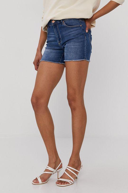 niebieski Only - Szorty jeansowe Damski