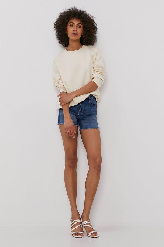 Only - Szorty jeansowe niebieski