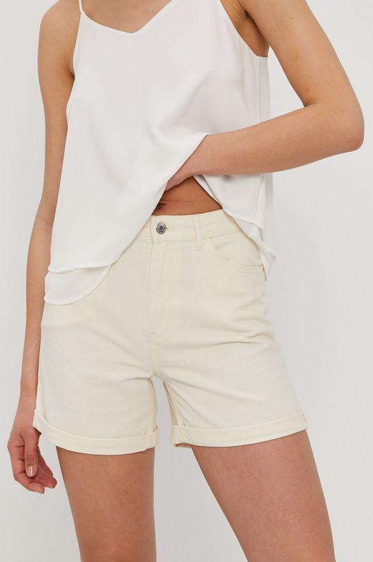 telová Only - Rifľové krátke nohavice Dámsky