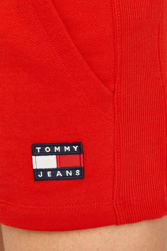 červená Tommy Jeans - Šortky