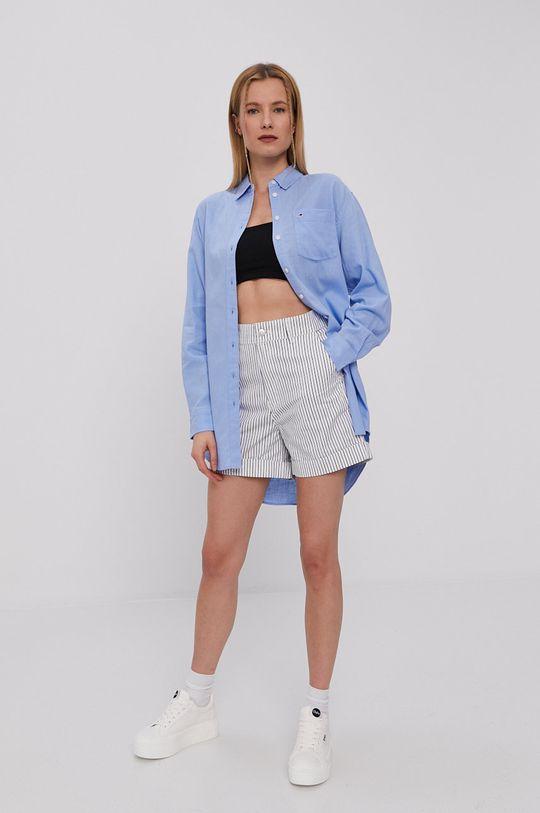 Tommy Jeans - Pantaloni scurti bleumarin