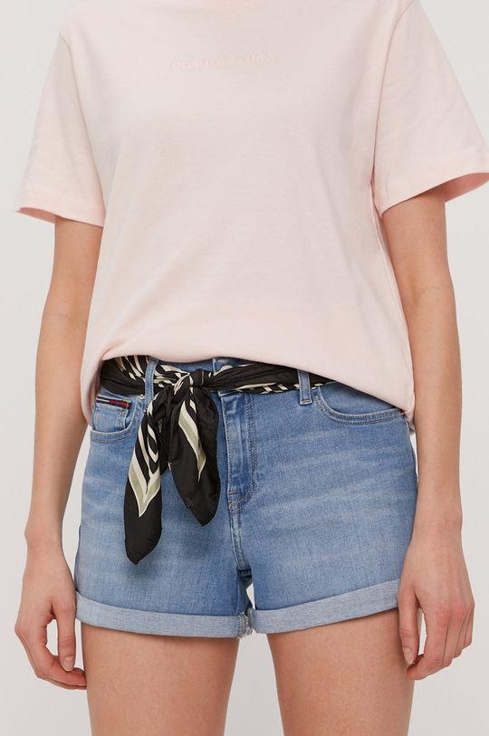 jasny niebieski Tommy Jeans - Szorty jeansowe Damski