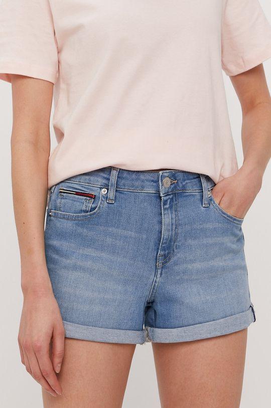 jasny niebieski Tommy Jeans - Szorty jeansowe
