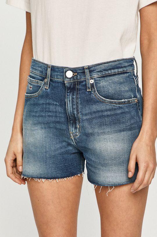niebieski Tommy Jeans - Szorty jeansowe Damski