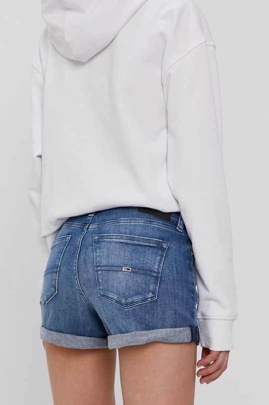 Tommy Jeans - Szorty jeansowe 98 % Bawełna, 2 % Elastan