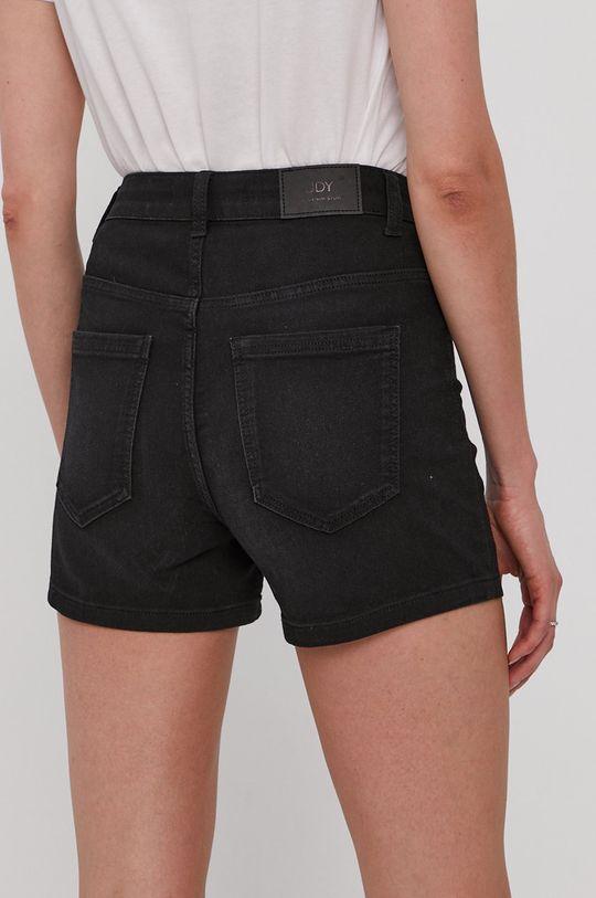 Jacqueline de Yong - Rifľové krátke nohavice  69% Bavlna, 1% Elastan, 30% Polyester
