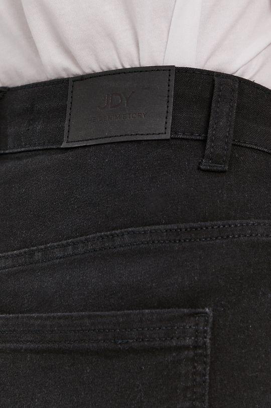 čierna Jacqueline de Yong - Rifľové krátke nohavice
