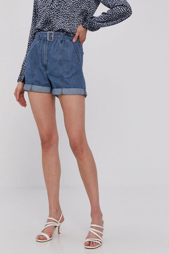 niebieski Jacqueline de Yong - Szorty jeansowe Damski