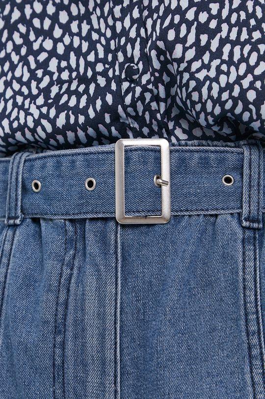 niebieski Jacqueline de Yong - Szorty jeansowe