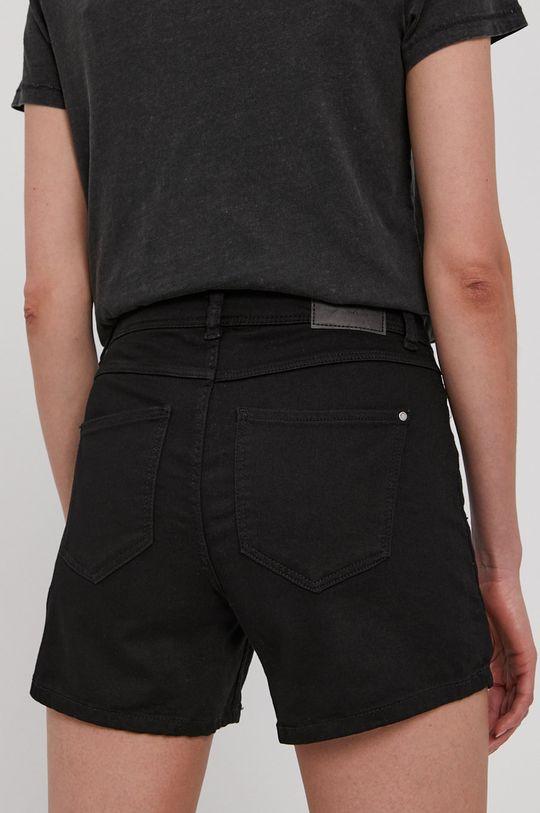 Jacqueline de Yong - Rifľové krátke nohavice  68% Bavlna, 2% Elastan, 30% Polyester