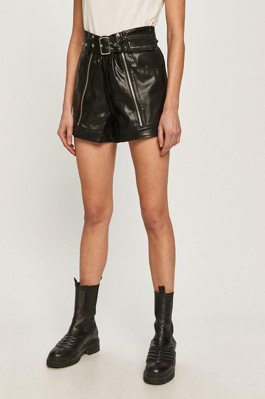 negru Diesel - Pantaloni scurti De femei
