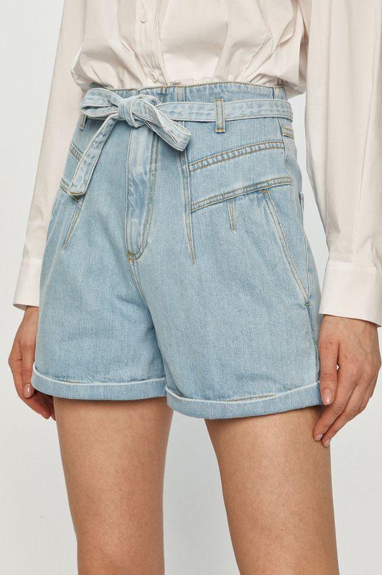 modrá Pinko - Rifľové krátke nohavice Dámsky
