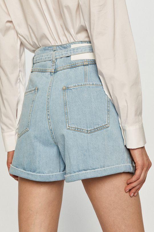 Pinko - Rifľové krátke nohavice  100% Bavlna