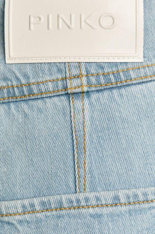 modrá Pinko - Rifľové krátke nohavice