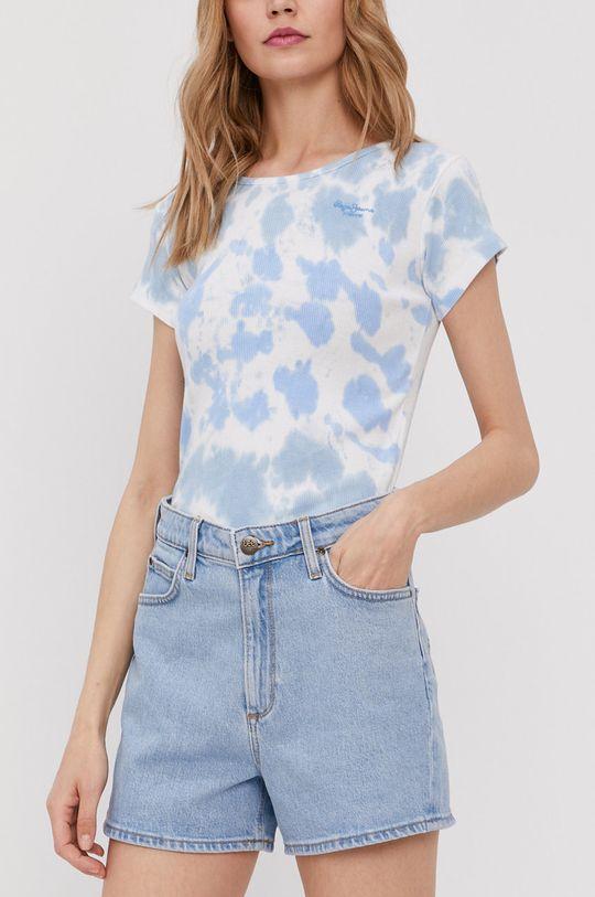 jasny niebieski Lee - Szorty jeansowe Damski