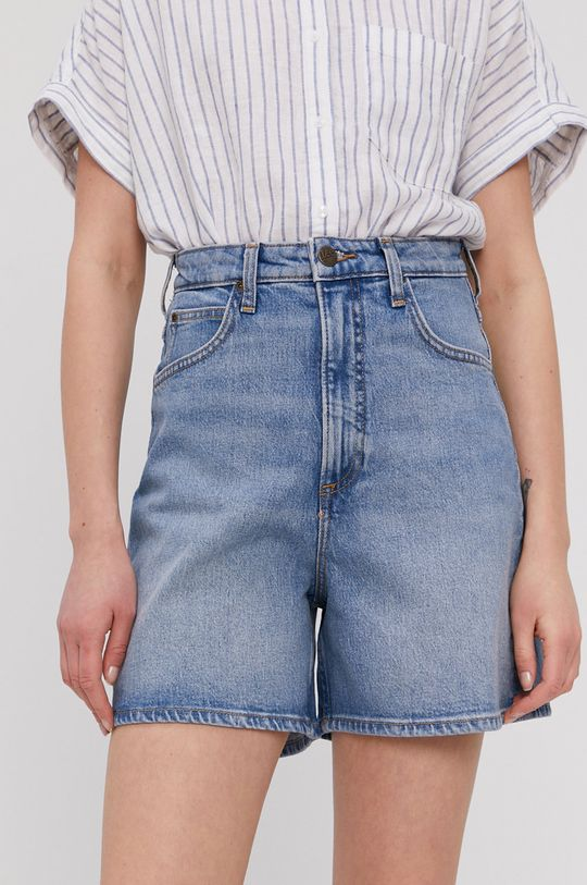 niebieski Lee - Szorty jeansowe Damski