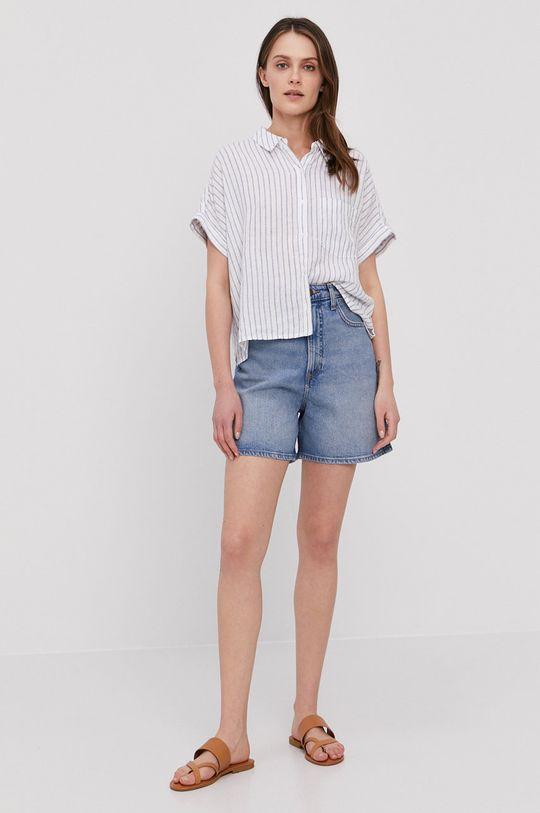 Lee - Szorty jeansowe niebieski