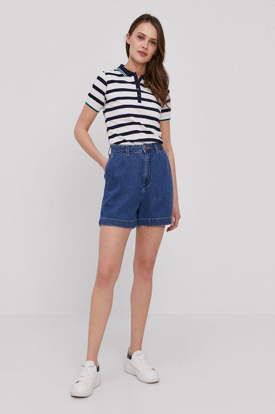 Wrangler - Džínové šortky námořnická modř