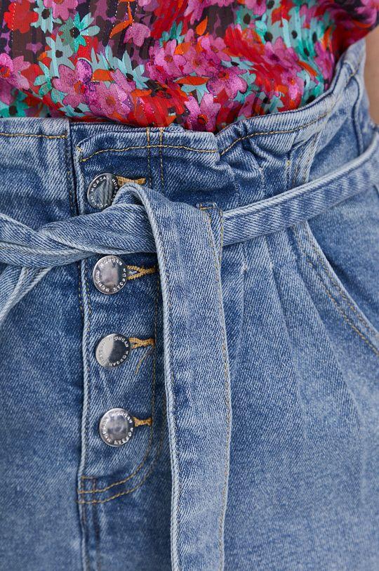 modrá Morgan - Rifľové krátke nohavice