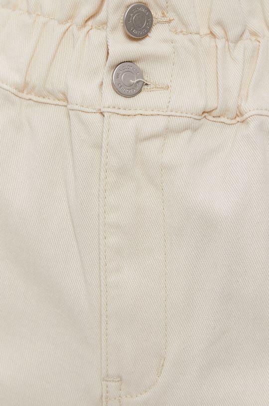 krémová Vila - Rifľové krátke nohavice