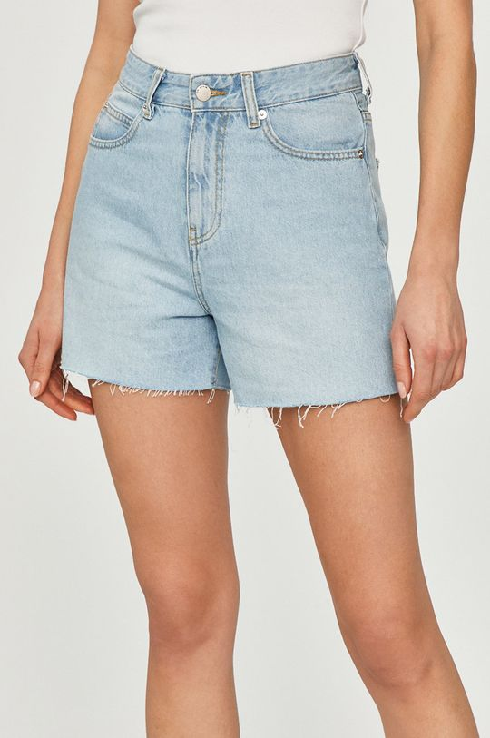 albastru pal Dr. Denim - Pantaloni scurti jeans De femei