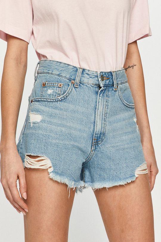 albastru deschis Dr. Denim - Pantaloni scurti jeans De femei