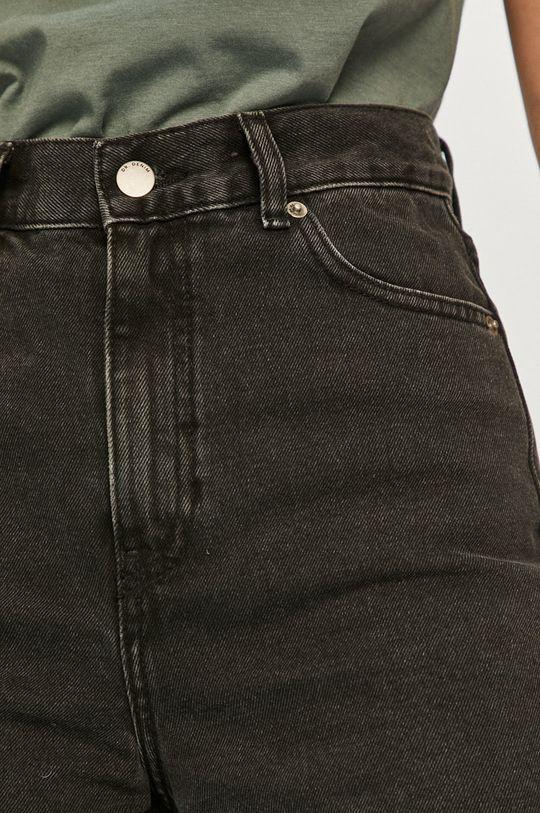 čierna Dr. Denim - Rifľové krátke nohavice