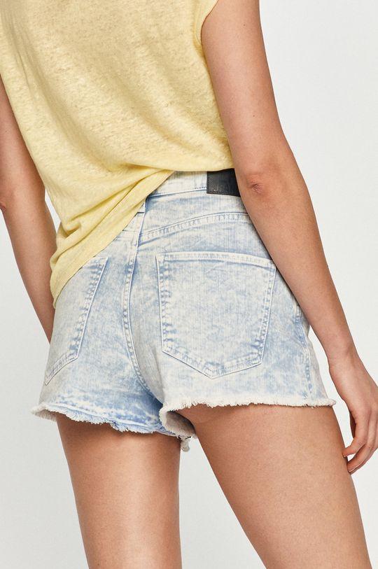 Pepe Jeans - Rifľové krátke nohavice Rachel  40% Bavlna, 60% Polyester