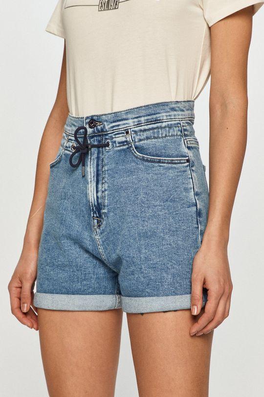 niebieski Pepe Jeans - Szorty jeansowe Bazile Damski