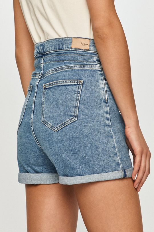 Pepe Jeans - Szorty jeansowe Bazile 99 % Bawełna, 1 % Elastan