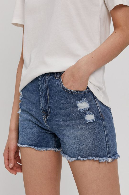 niebieski Haily's - Szorty jeansowe Damski