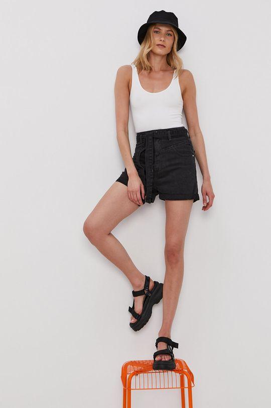 Haily's - Džínové šortky černá