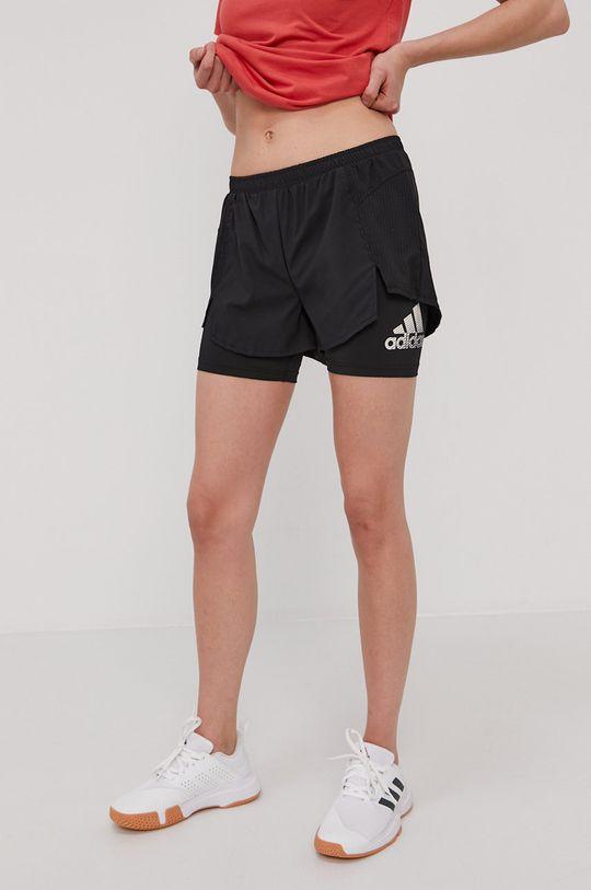 čierna adidas - Šortky Dámsky