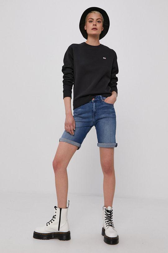 Tommy Jeans - Džínové šortky modrá