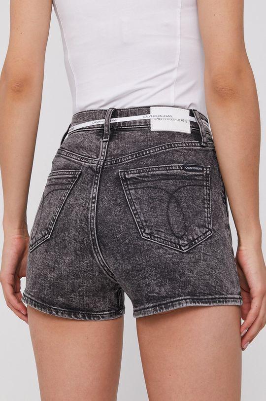 Calvin Klein Jeans - Džínové šortky  99% Bavlna, 1% Elastan