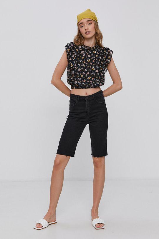 Tally Weijl - Džínové šortky černá