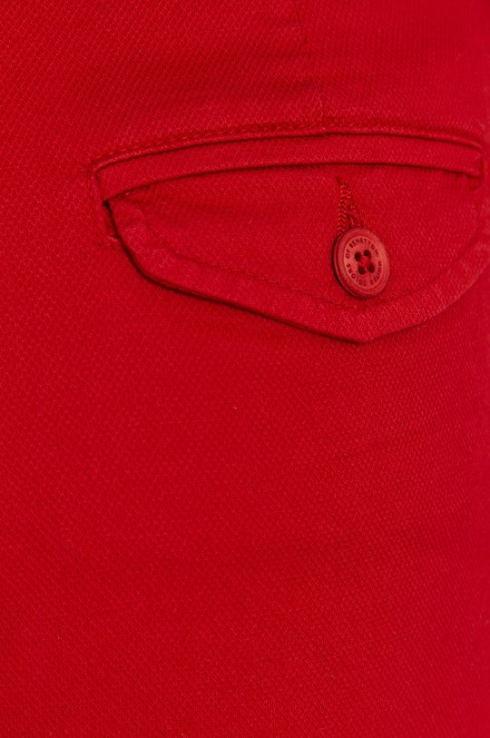červená United Colors of Benetton - Kraťasy