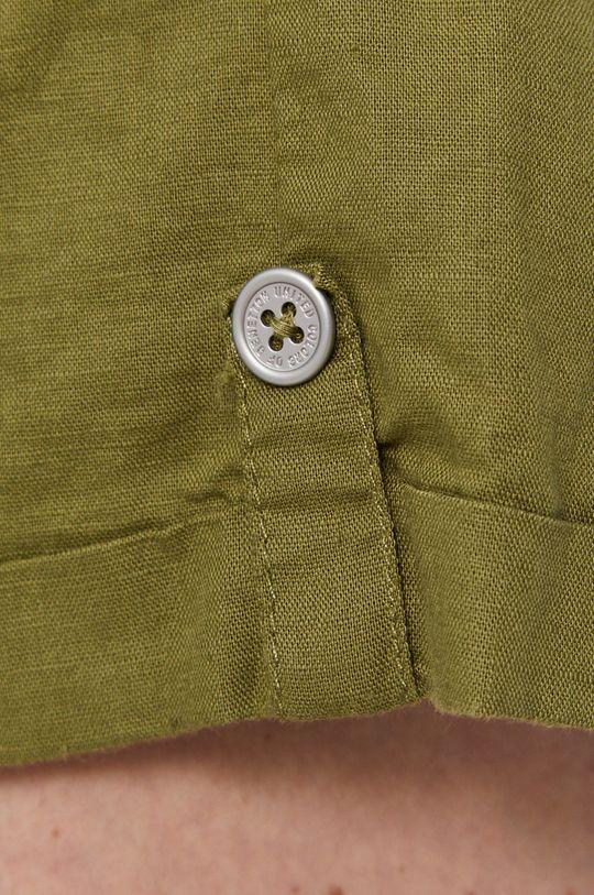 oliwkowy United Colors of Benetton - Szorty